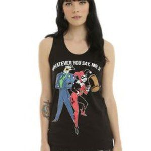 Harley Quinn & Joker DC Comics Tank Top